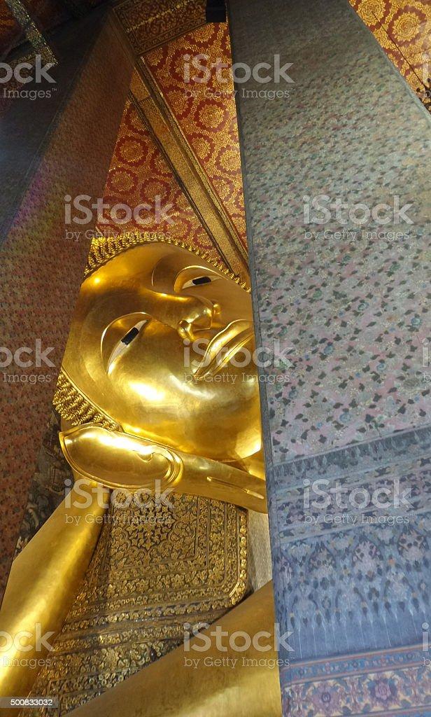 Wat Pho - bangkok,Thailand stock photo