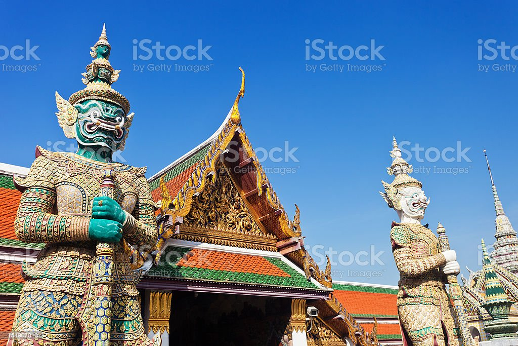 Wat Pho In Bangkok, Thailand stock photo
