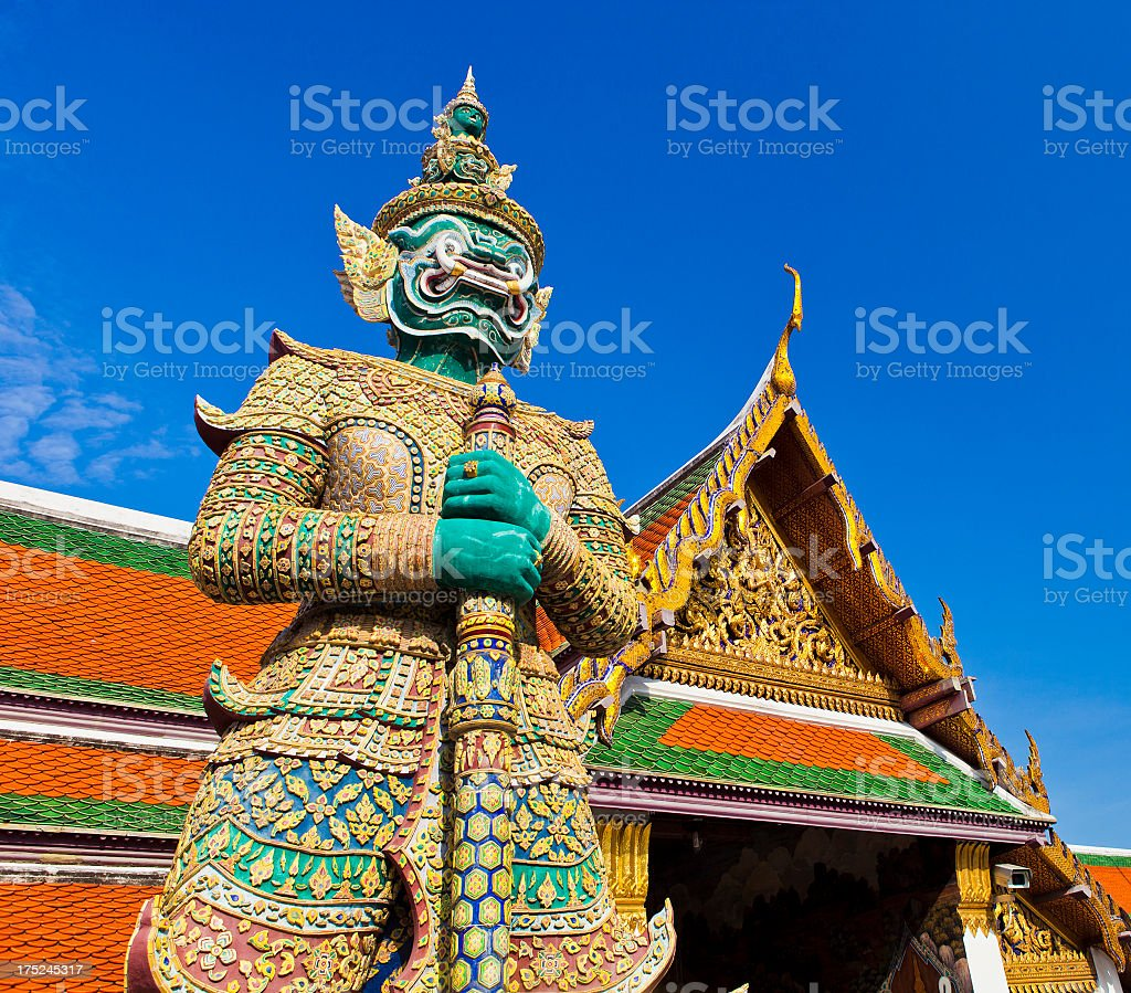 Wat Pho In Bangkok, Thailand royalty-free stock photo