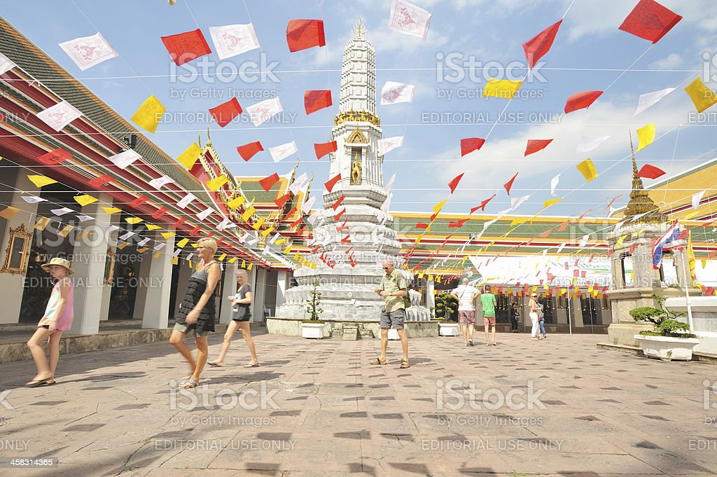 Wat Pho in Bangkok thailand royalty-free stock photo