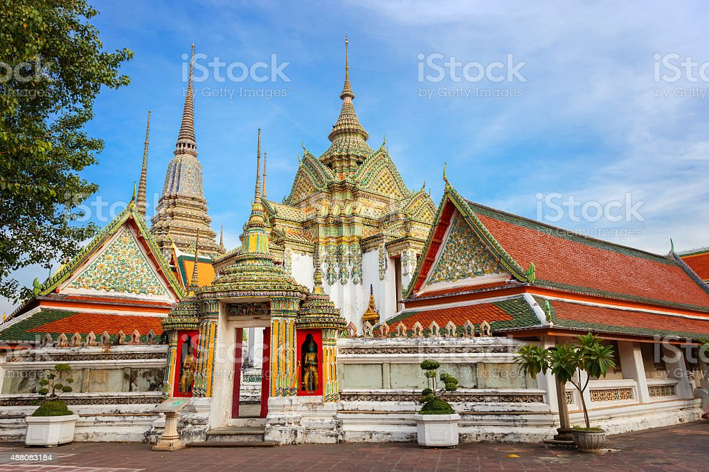 Wat Pho (Pho Temple) in Bangkok, Thailand stock photo