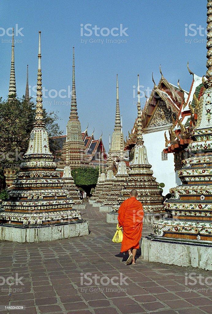 Wat Pho Temple. Bangkok, Thailand. royalty-free stock photo