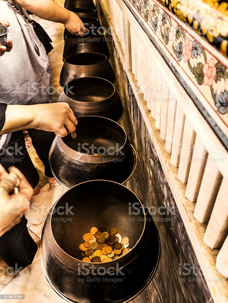 Wat Pho temple Bangkok Thailand stock photo