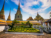 Wat Pho temple complex Bangkok Thailand