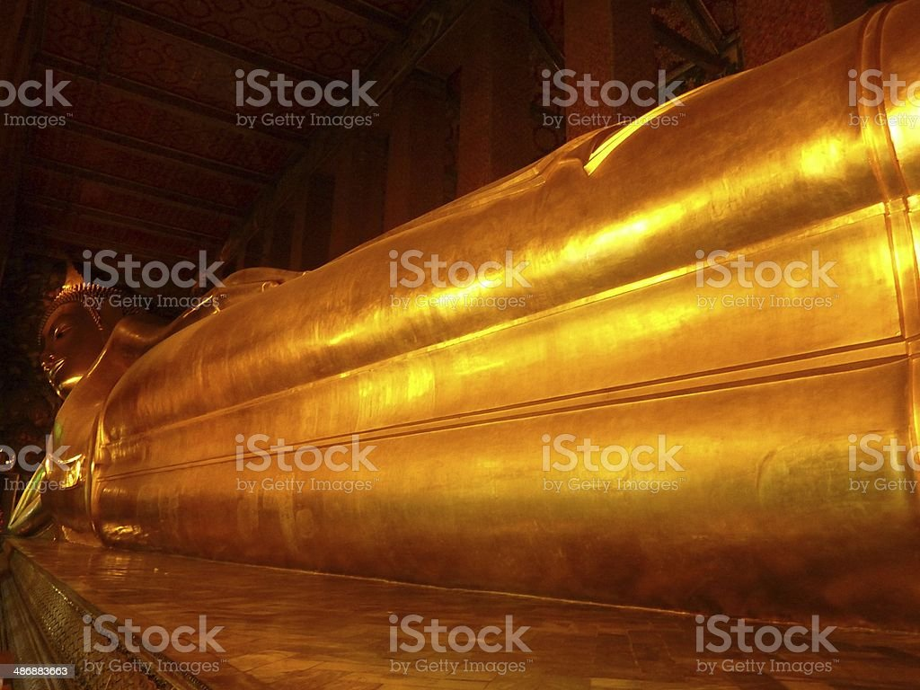 Wat Pho / Temple of the Reclining Buddha, Bangkok royalty-free stock photo