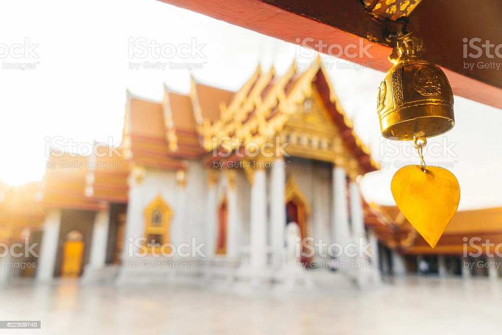 Wat Pho temple stock photo