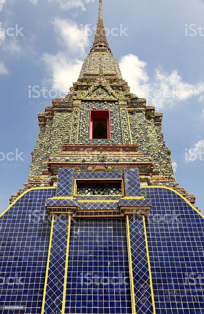 wat pho-bangkok stock photo