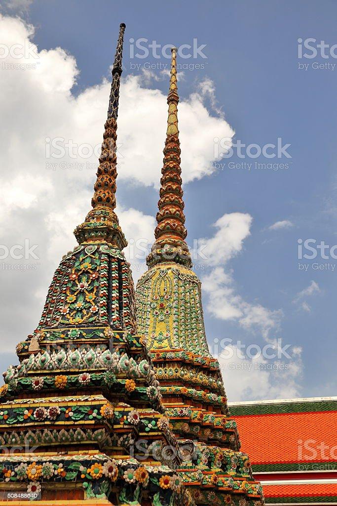 wat pho-thailand stock photo