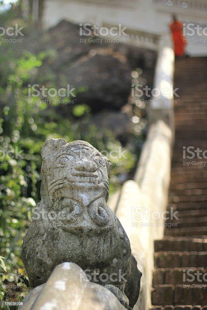 Wat Phousi - Luang Prabang, Laos royalty-free stock photo