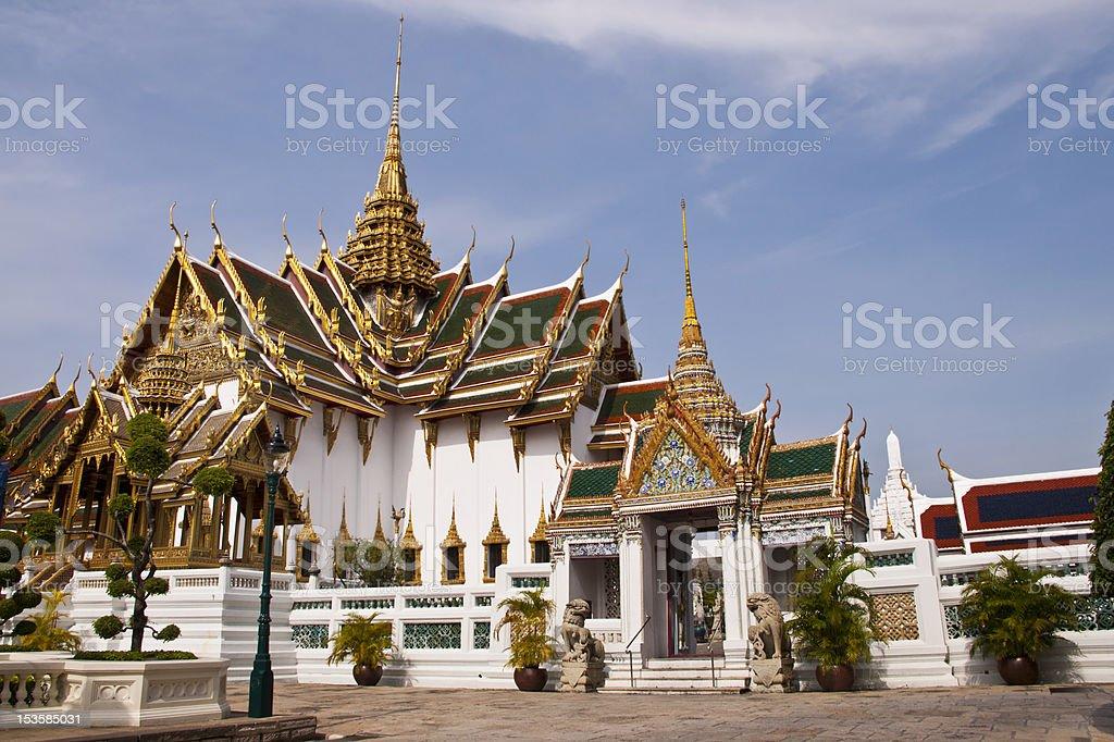 Wat phra Kaew w Bangkoku w Tajlandii zbiór zdjęć royalty-free