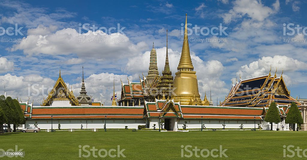 Wat Phra Kaeo, Bangkok, Thailand stock photo