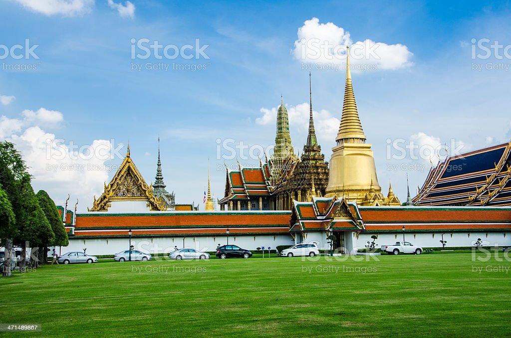 wat phra kaeo grand palace bangkok thailand royalty-free stock photo