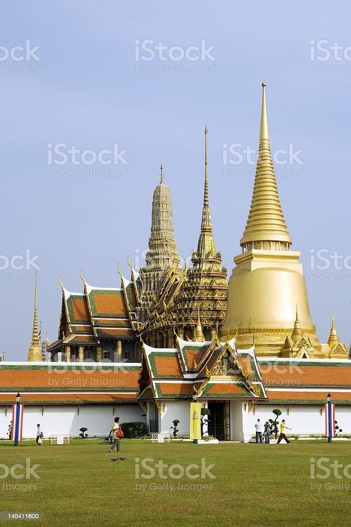 Wat Phra Kaeo royalty-free stock photo