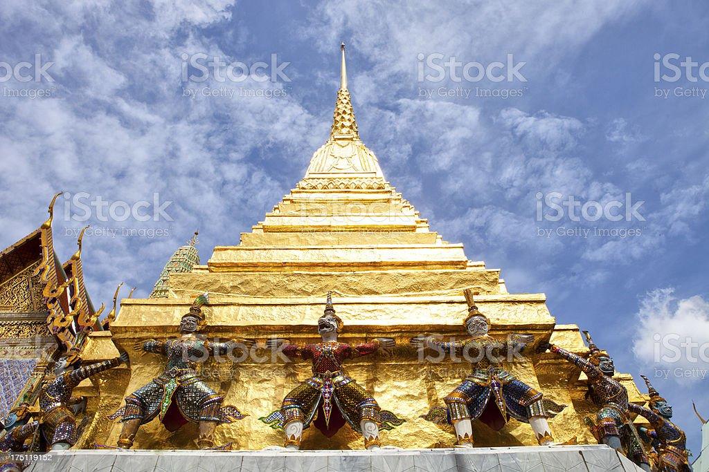 Wat Phra Kaeo royalty-free stock photo
