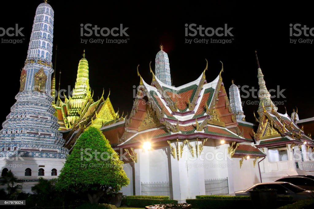 Wat Phra Kaew Amazing Thailand. stock photo
