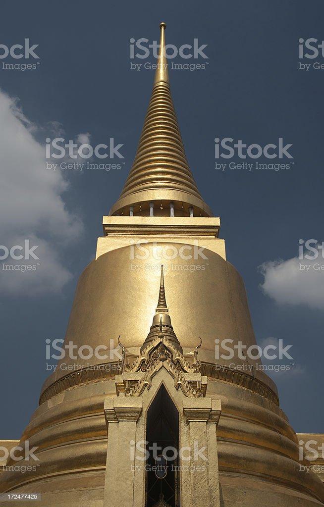 Wat Phra Kaew Bangkok royalty-free stock photo