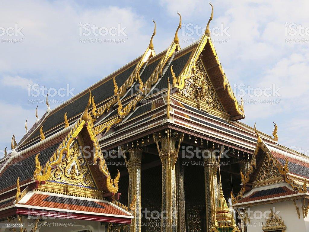 Wat Phra Kaew, Bangkok, Thailand stock photo