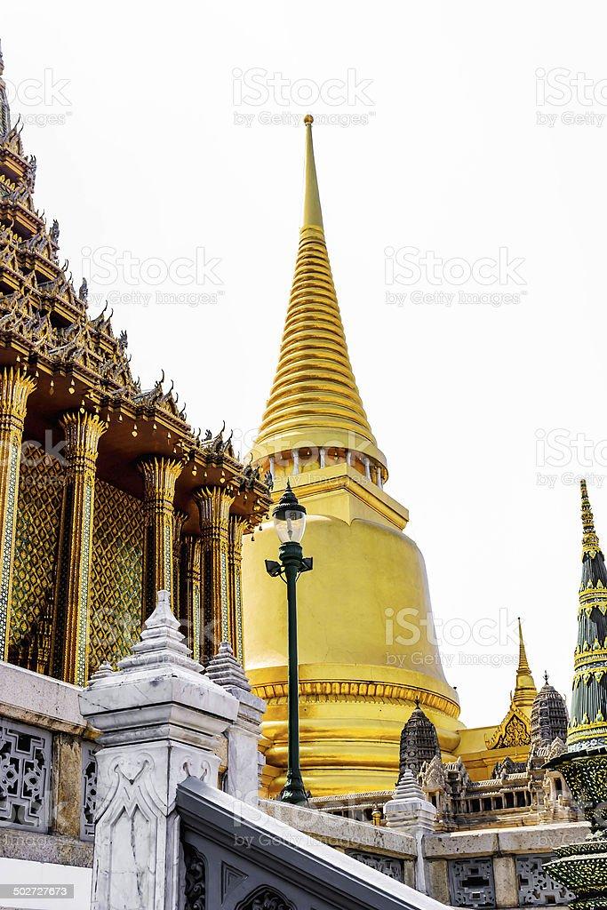 Wat Phra Kaew, Bangkok, Thailand. royalty-free stock photo
