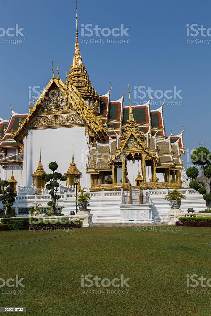 Wat Phra Kaew, Bangkok-Thailand stock photo