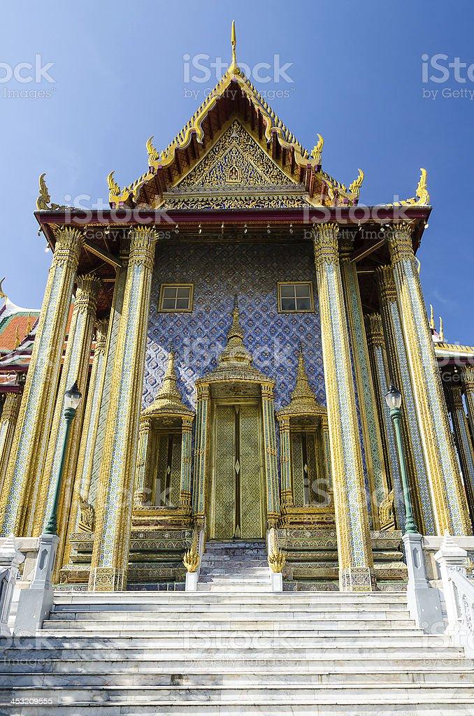 Wat Phra Kaew in Bangkok, Thailand. royalty-free stock photo