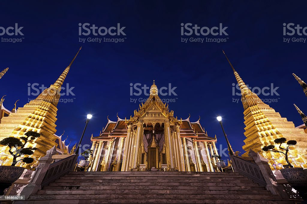 Wat Phra Kaew royalty-free stock photo