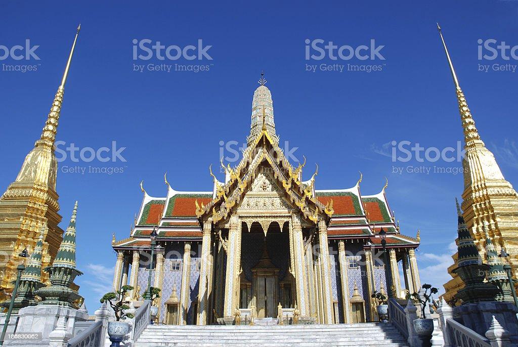 Wat phra kaew. royalty-free stock photo