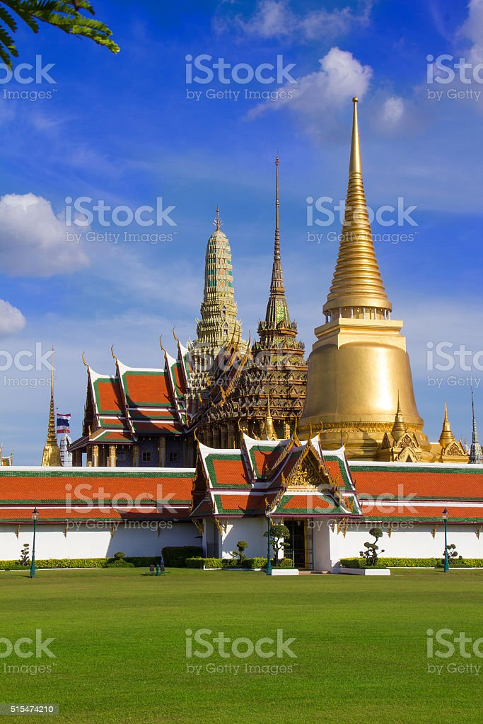 'Wat Phra Kaew' stock photo