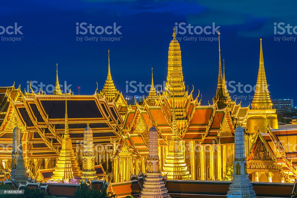 Wat Phra Kaew stock photo