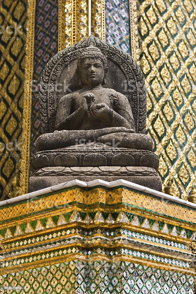 Wat Phra Kaew Temple, Bangkok, Thailand royalty-free stock photo