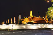 Wat Phra Kaew, Temple of the Emerald Buddha, Bangkok, Thailand