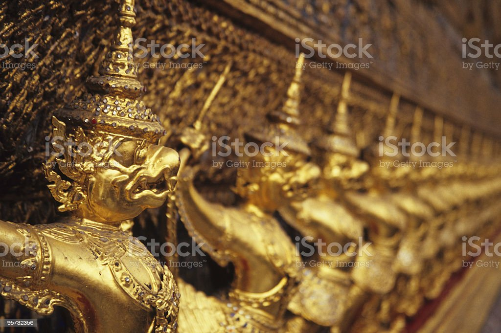 Wat Phra Keo, Bangkok, Thailand stock photo