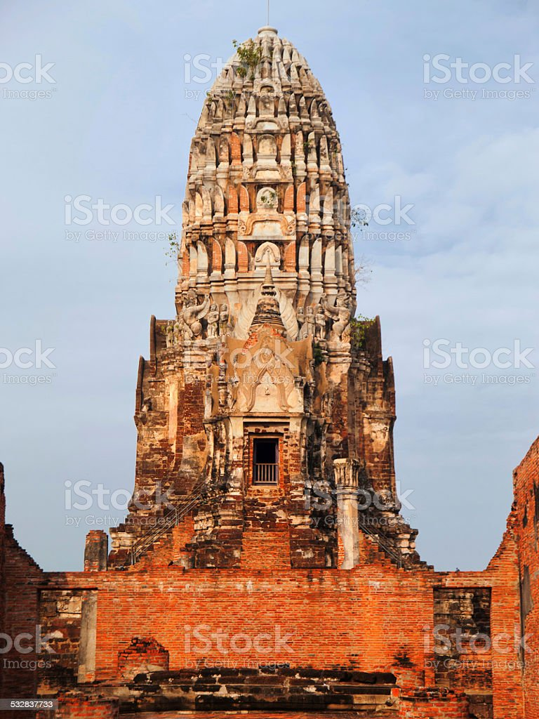 Wat Phra Mahathat, Ayuthaya stock photo