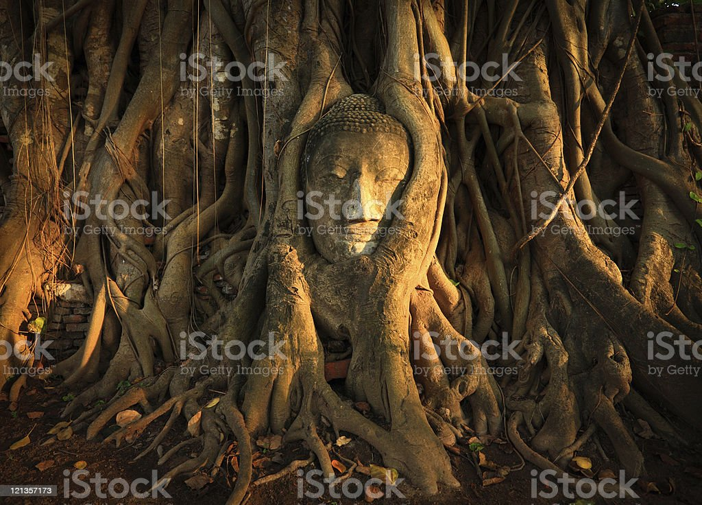 Wat Phra Mahathat royalty-free stock photo