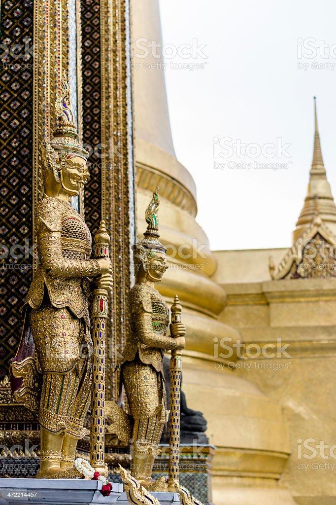 Wat Phra Si Rattana Satsadaram stock photo