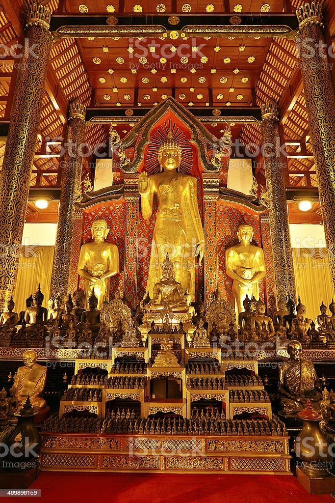 Wat Phra Singh royalty-free stock photo