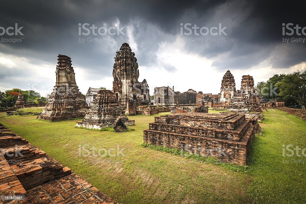 Wat Phra Sri Rattana Mahathat Historical park royalty-free stock photo