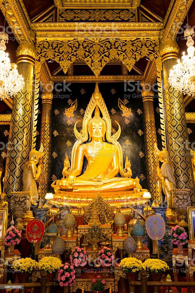 Wat Phra Sri Rattana Mahathat Thai Temple stock photo