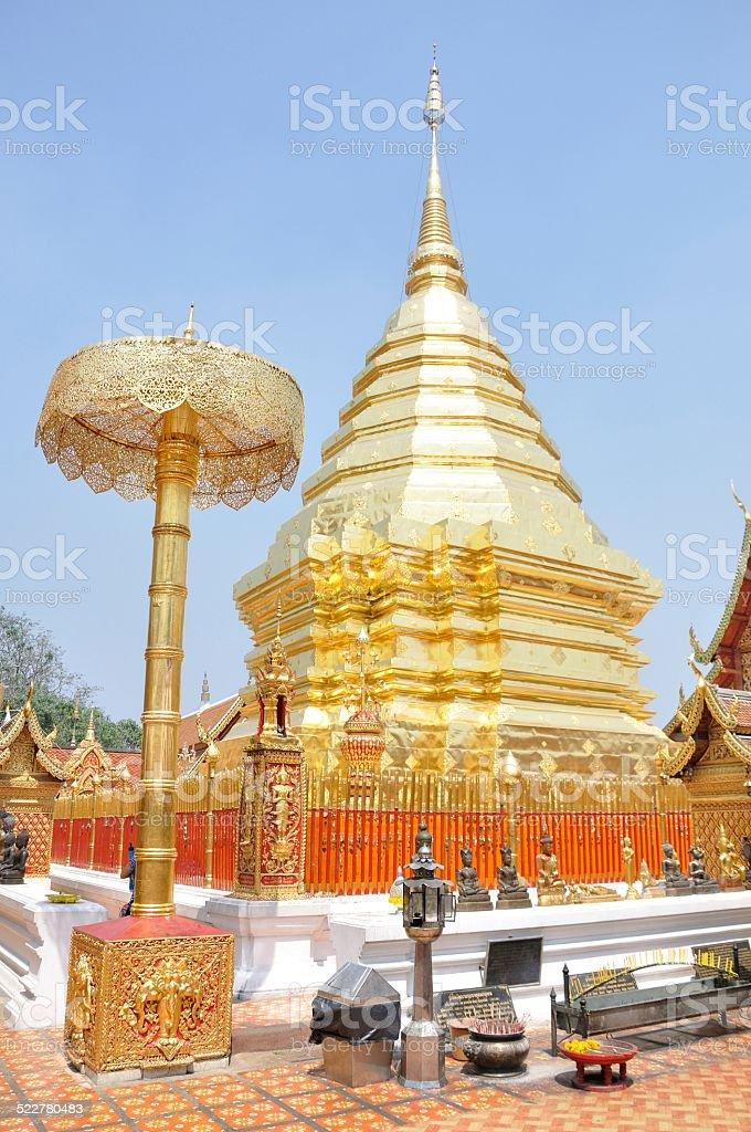 Wat Phra That Doi Suthep, Chiang Mai, Thailand stock photo