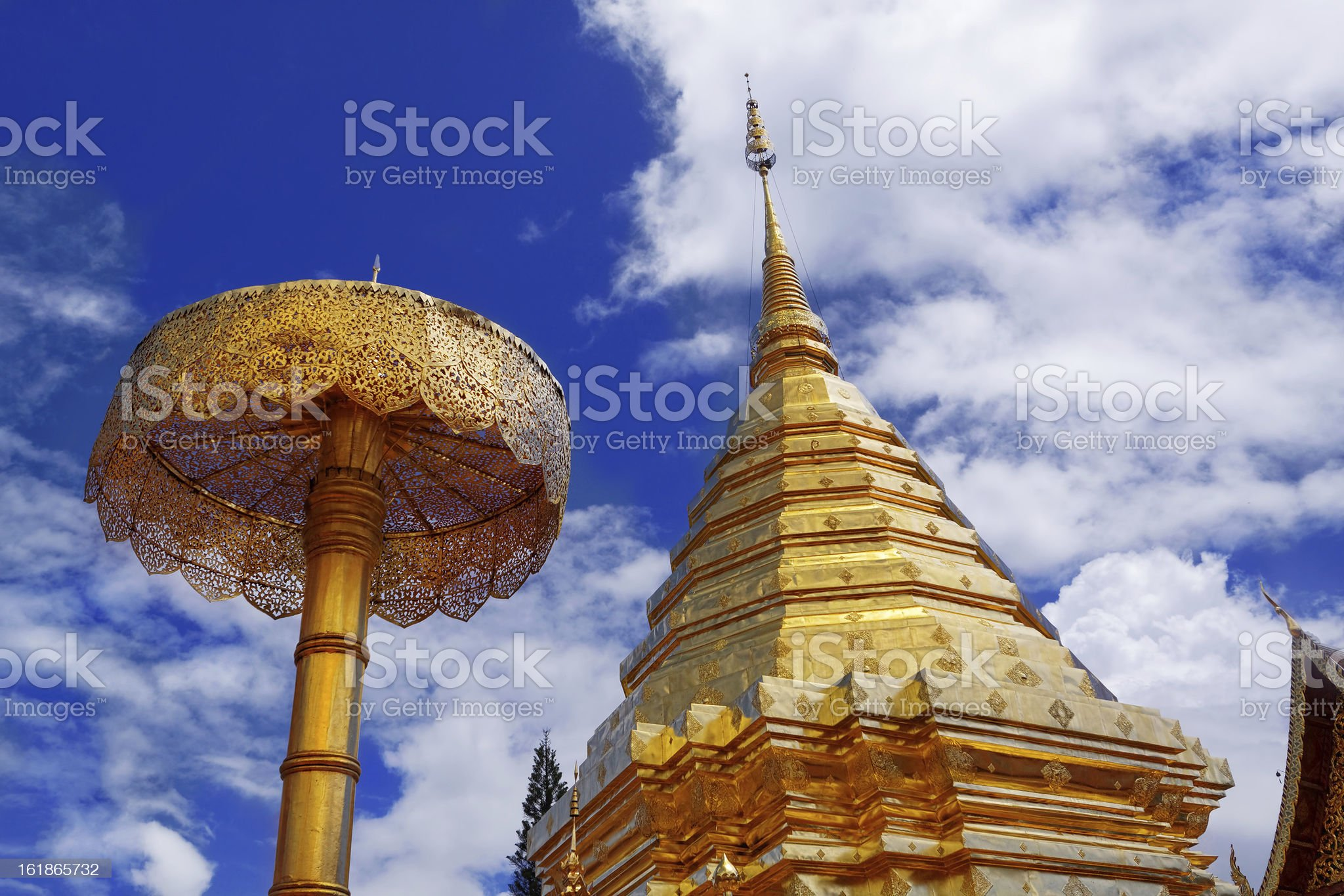 Wat Phra That Doi Suthep royalty-free stock photo