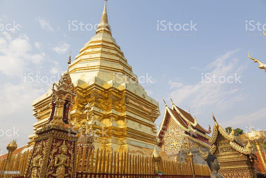 Wat Phra That Doi Suthep royalty-free stock photo