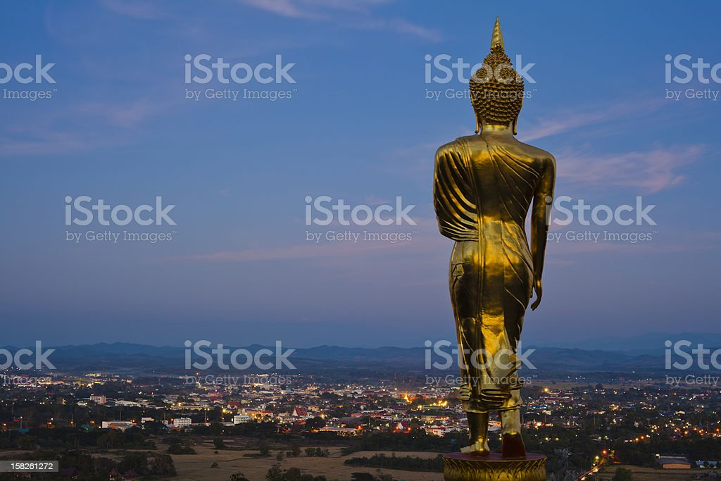 Wat Phra That Khao Noi royalty-free stock photo