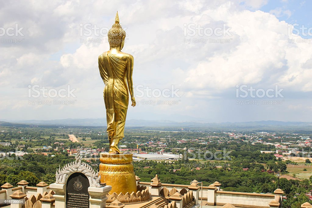 Wat Phra That Khao Noi stock photo