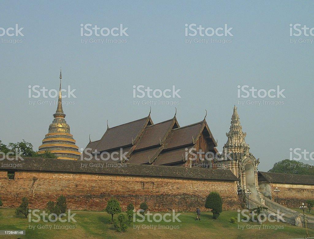 Wat Phra That, Thailand 1 stock photo