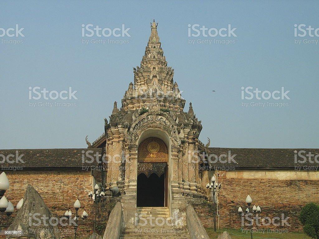 Wat Phra That, Thailand 2 stock photo