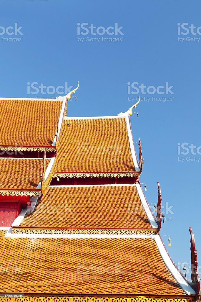 Wat Phrathat Doi Suthep, Thailand royalty-free stock photo