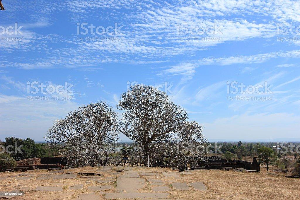 Wat Phu royalty-free stock photo