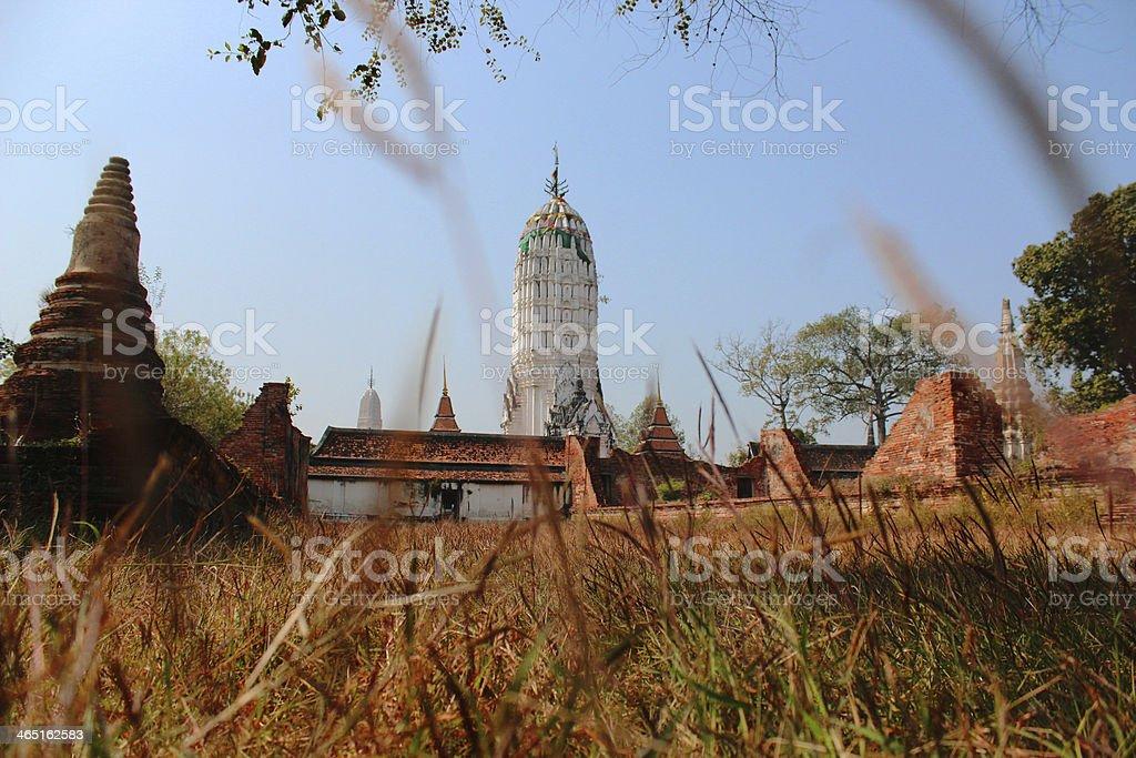 Wat Phutthaisawan at Ayutthaya stock photo