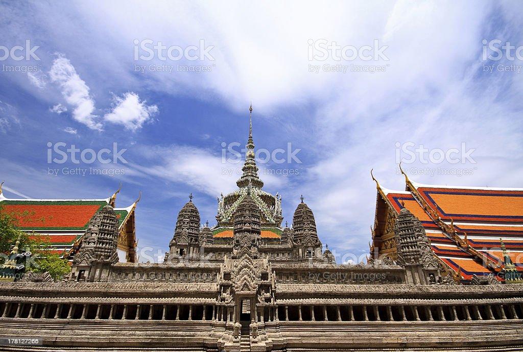 Wat Pra Kaew royalty-free stock photo