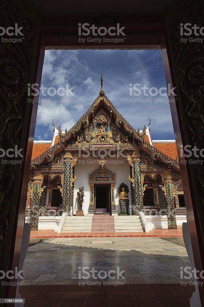 Wat Pratat Choeng Chum royalty-free stock photo