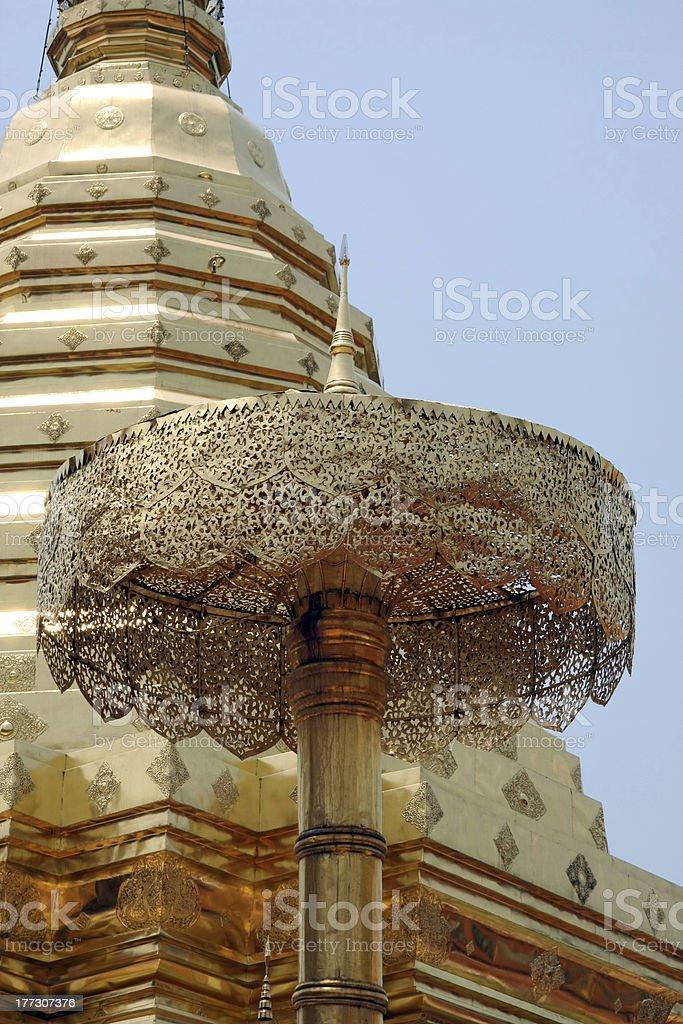 Wat (Temple) Prathat Doi Suthep, Chiang Mai, Thailand stock photo
